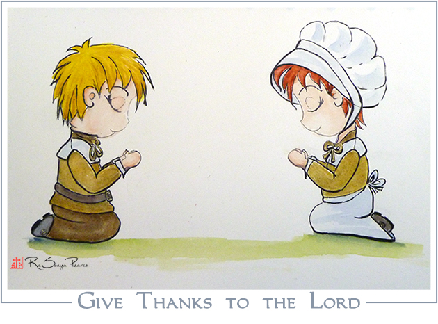 Give Thanks to the Lord www.FaithworksartStudio.com