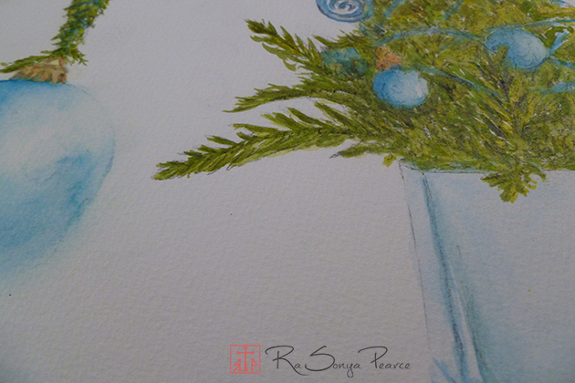 Who Christmas Tree www.FaithworksArtStudio.com RaSonya Pearce