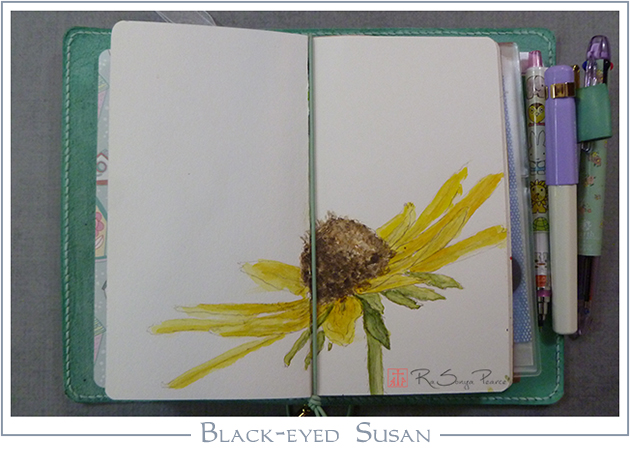 Black-eyed Susan RaSonya Pearce www.FaithworksArtStudio.com