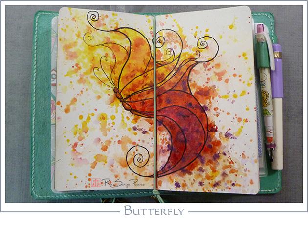Butterfly  RaSonya Pearce     www.FaithworksArtStudio.com
