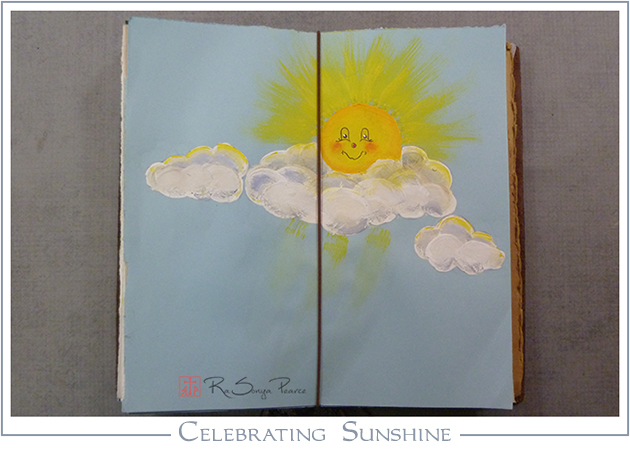 Celebrating Sunshine RaSonya Pearce www.FaithworksArtStudio.com