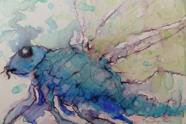 Dragonfly  RaSonya Pearce  www.FaithworksArtStudio.com