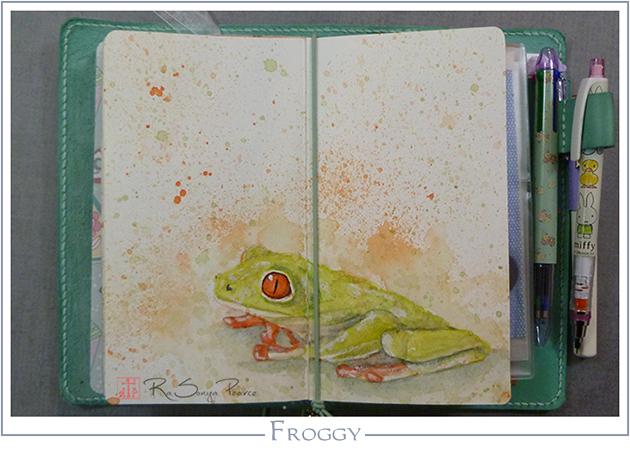Froggy RaSonya Pearce www.FaithworksArtStudio.com