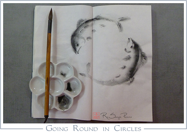 Going Round in Circles   RaSonya Pearce  www.FaithworksArtStudio.com
