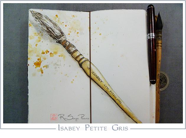 Isabey Petite Gris, RaSonya Pearce-- www.FaithworksArtStudio.com