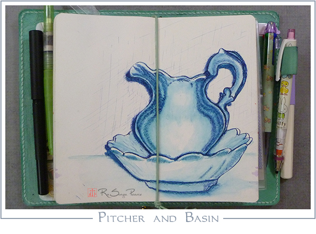 Pitcher and Basin RaSonya Pearce www.FaithworksArtStudio.com