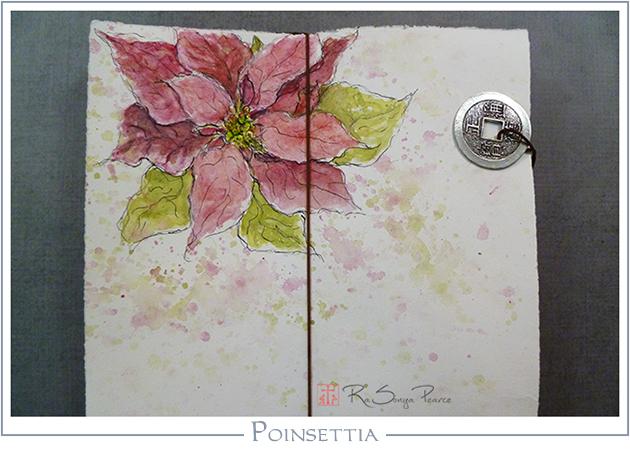Poinsettia RaSonya Pearce  www.FaithworksArtStudio.com