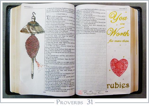 Proverbs 31 RaSonya Pearce www.FaithworksArtStudio.com