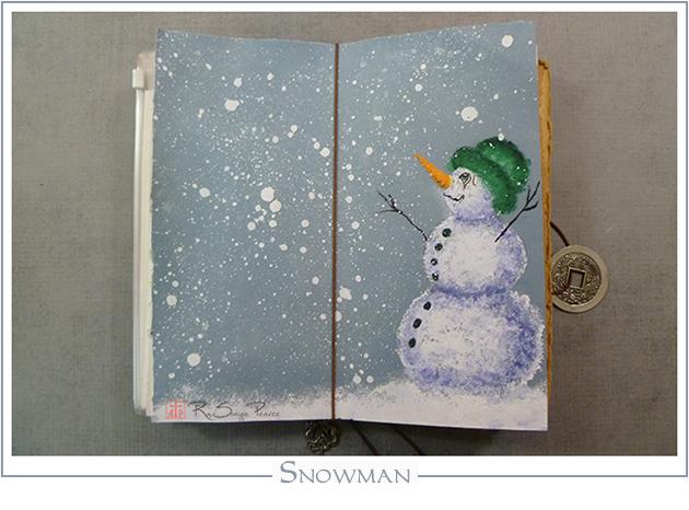 Snowman RaSonya Pearce www.FaithworksArtStudio.com