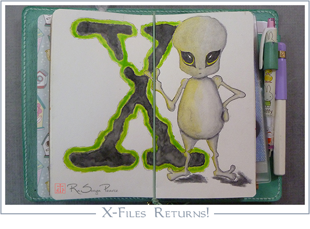 The X-Files Returns  RaSonya Pearce  www.FaithworksArtStudio.com