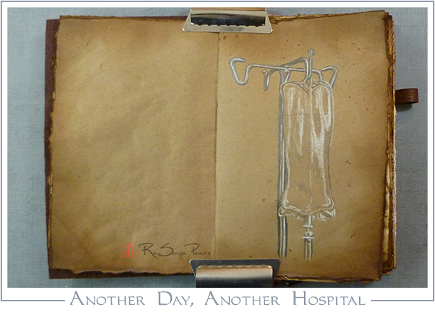 Another Day, Another Hospital, RaSonya Pearce, www.FaithworksArtStudio.com