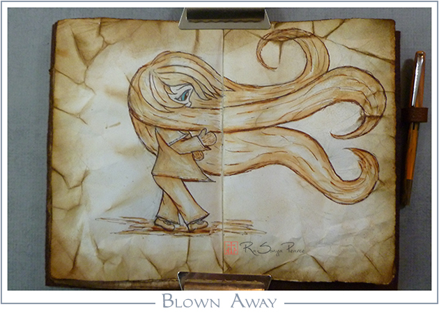 Blown Away, RaSonya Pearce, www.FaithworksArtStudio.com
