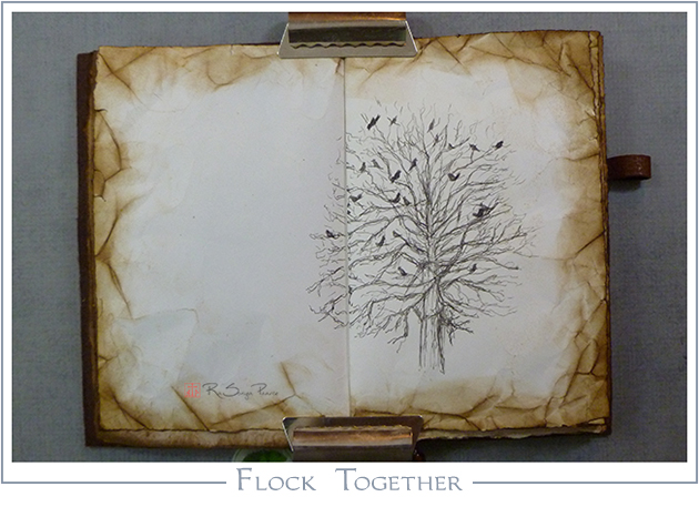 Flock Together RaSonya Pearce www.FaithworksArtStudio.com
