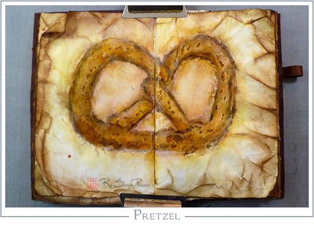 Pretzel RaSonya Pearce www.FaithworksArtStudio.com