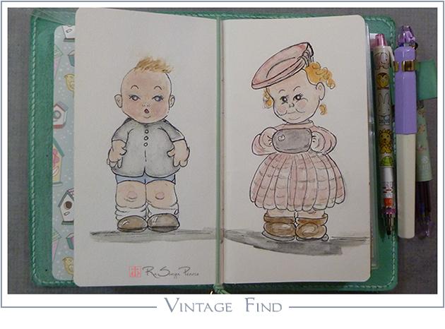 Vintage Find RaSonya Pearce www.FaithworksArtStudio.com