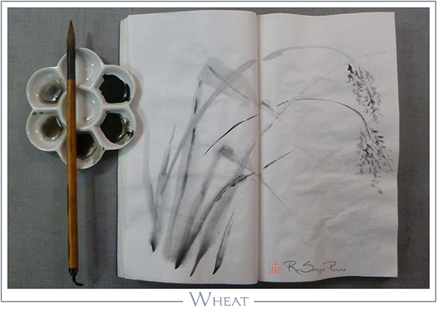 Wheat RaSonya Pearce www.FaithworksArtStudio.com