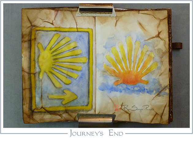 Journey's End, Art 365-16-86, RaSonya Pearce, www.FaithworksArtStudio.com