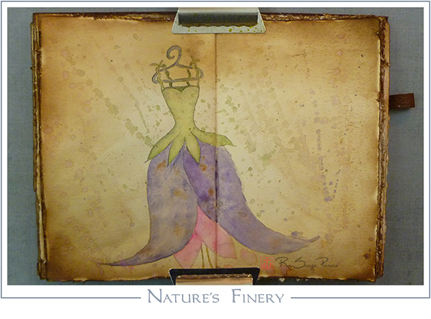 Nature's Finery, Art 365-16-81, RaSonya Pearce, www.FaithworksArtStudio.com