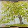 Spring Green, Art 365-16-71, RaSonya Pearce, www.FaithworksArtStudio.com