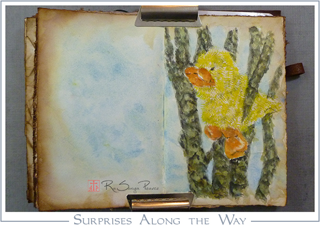 Surprises Along the Way, Art 365-16-65, RaSonya Pearce, www.FaithworksArtStudio.com
