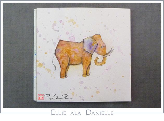 Ellie ala Danielle, Art 365-16-118, RaSonya Pearce, www.FaithworksArtStudio.com