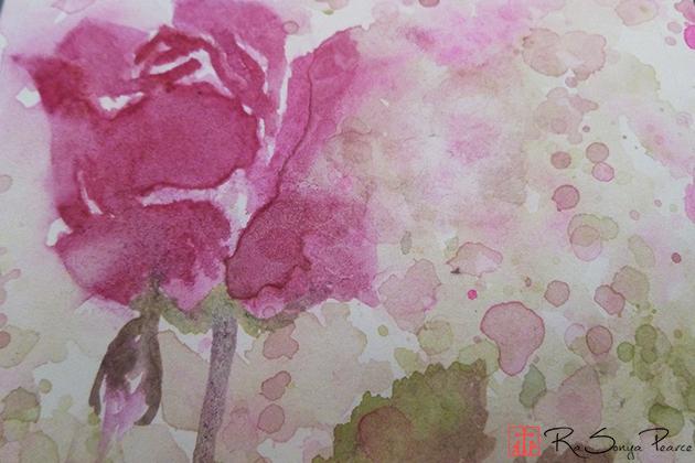 Mother's Day Rose, Art 365-16-133, RaSonya Pearce, www.FaithworksArtStudio.com