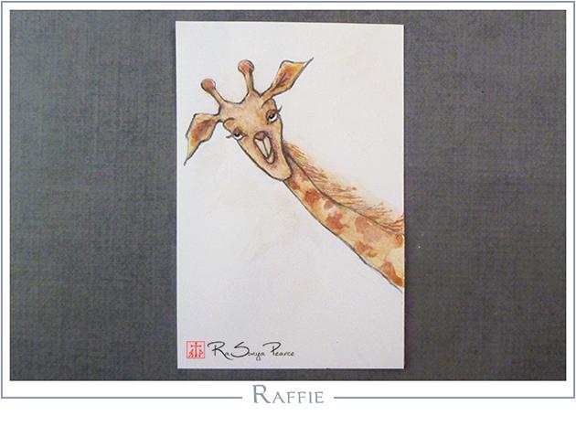 Raffie, Art 365-16-121, RaSonya Pearce, www.FaithworksArtStudio.com