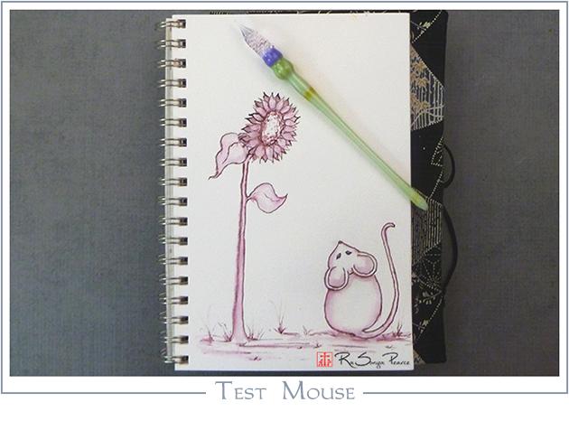 Test Mouse, Art 365-16-147, RaSonya Pearce, www.FaithworksArtStudio.com