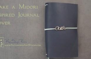 Make a Midori Inspired Journal www.FaithworksArtStudio.com