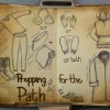 Prepping for the Path, RaSonya Pearce, www.FaithworksArtStudio.com