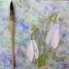Snowdrops, Art 365-16-100, RaSonya Pearce, www.FaithworksArtStudio.com