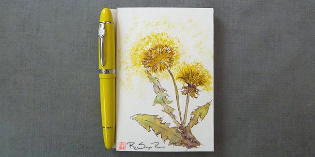 Dandelions, Art 365-16-154