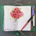Give Joy, Art 365-16-152, RaSonya Pearce, www.FaithworksArtStudio.com