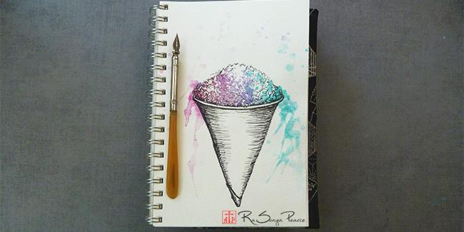 Snow Cone, Art 365-16-153